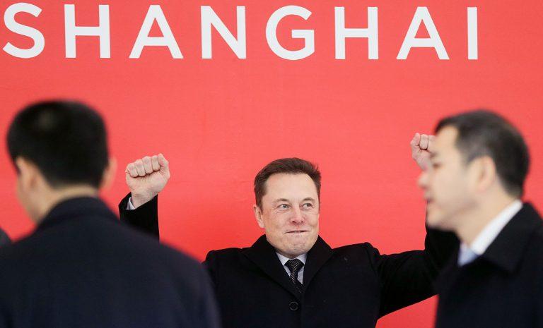 Tesla legt Grundstein für Gigafabrik in Shanghai