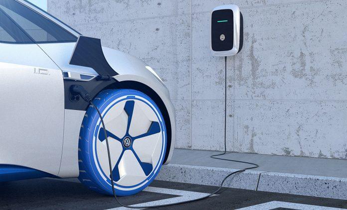 Volkswagen bietet Strom an. Foto: Volkswagen