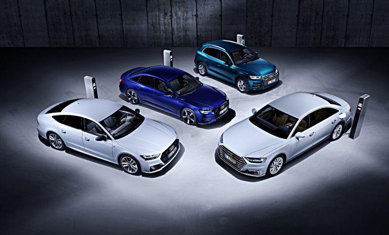 Audi: Vier Modelle  bekommen Plugin-Hybrid