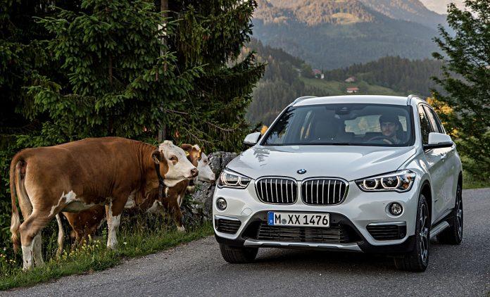 Der BMW X1. Foto: BMW