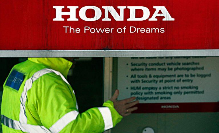 Honda stellt Produktion in Großbritannien ein