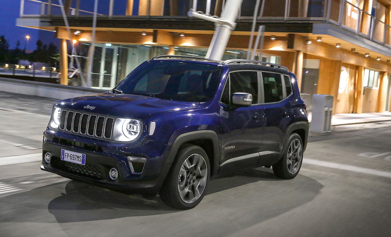 Der Jeep Renegade. Foto: Jeep