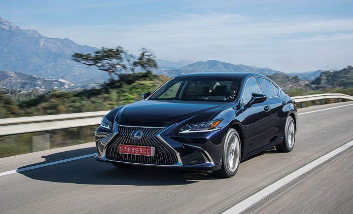 Der Lexus ES. Foto: Lexus