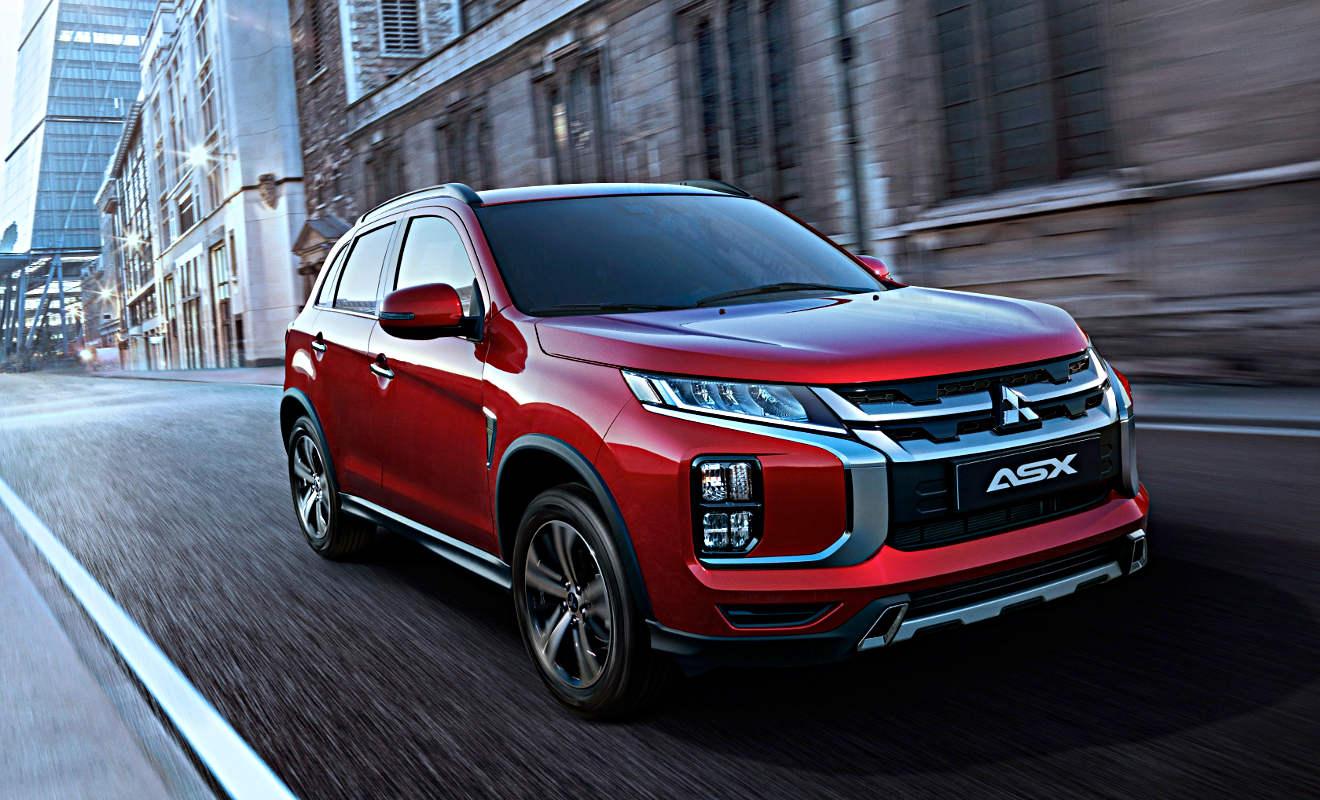 Mitsubishi Asx History