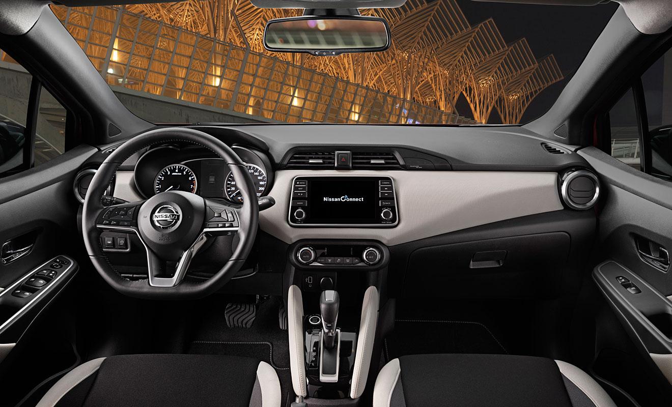 Das Cockpit des Nissan Micra. Foto: Nissan