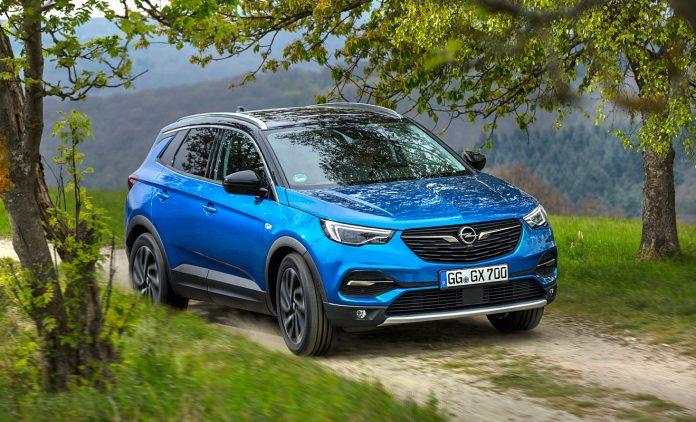 Der Opel Grandland X. Foto: Opel