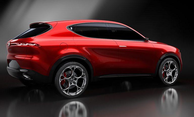 Alfa Romeo zeigt kleinen Stelvio-Bruder