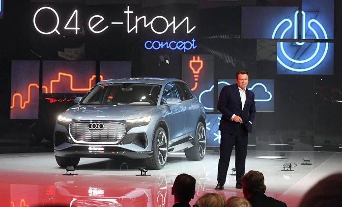 Die Studie Audi Q4 e-tron. Foto: dpa