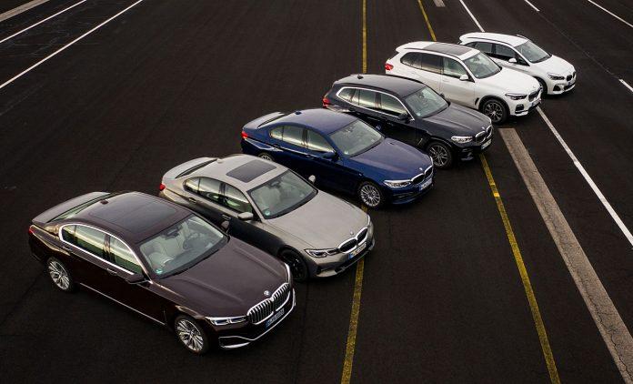 Die Plugin-Hybriden von BMW. Foto: BMW