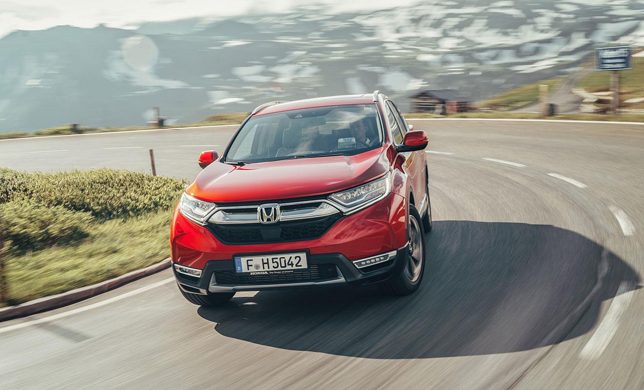 Der neue Honda CR-V. Foto: Honda