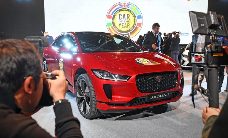 Spannendes Finale: Jaguar I-Pace ist Car of the Year