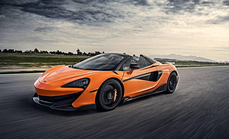 McLaren 600 LT Spider: Rausch des Rasens