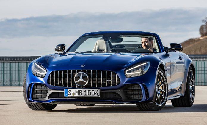 Der GT R Roadster. Foto: Mercedes-AMG