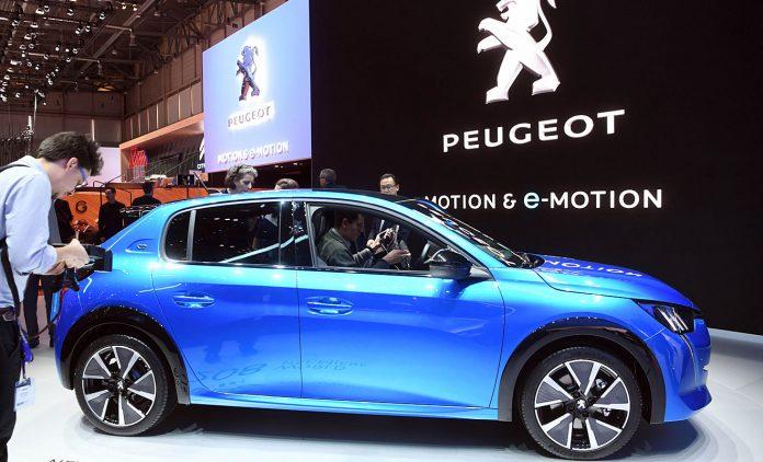 Der Peugeot e-208. Foto: Peugeot