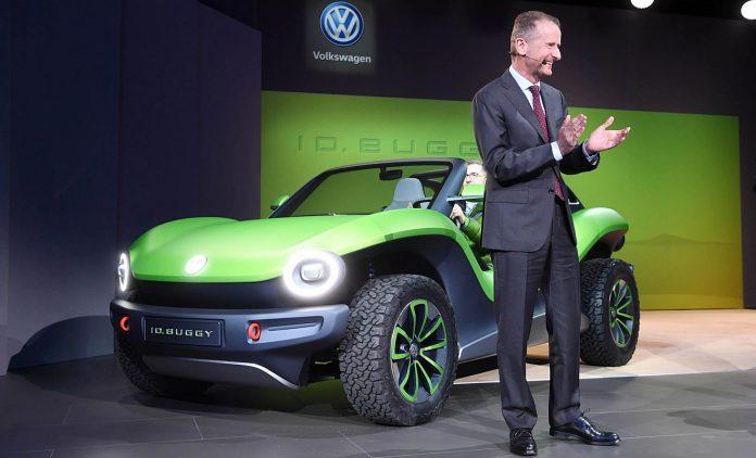 VW-Chef Herbert Diess. Foto: dpa