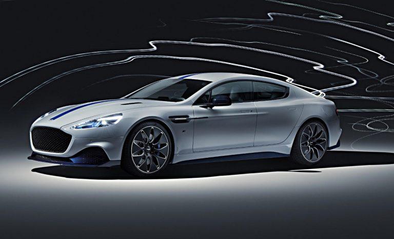 Aston Martin Rapid E: Kleinserie kommt dieses Jahr