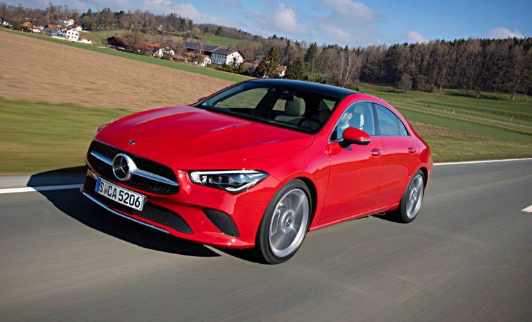Mercedes CLA Coupé: Knackig bis zum Heck