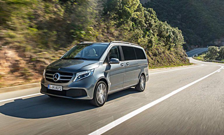 Mercedes V 300d: Großraumbus mit Stil