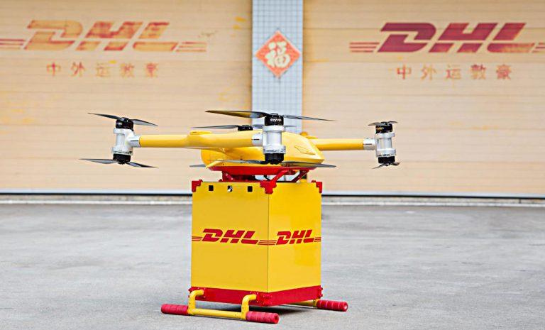 DHL installiert feste Lieferstrecke für Paket-Drohne