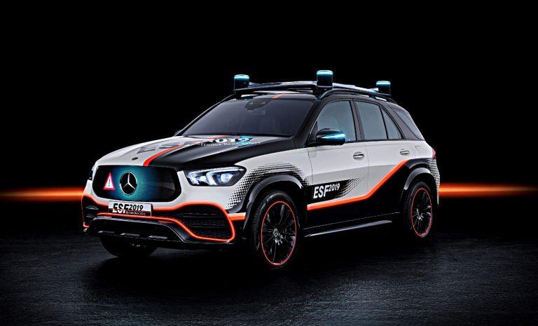 Mercedes ESF: Sicherheit für selbstfahrende Autos
