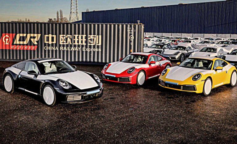 Porsche nutzt «Seidenstraße» für China-Exporte