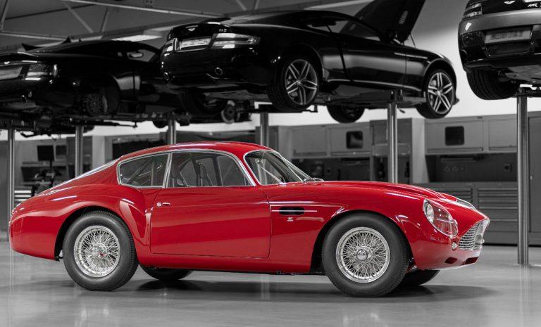Aston Martin kommt mit Neuzeit-Oldtimer
