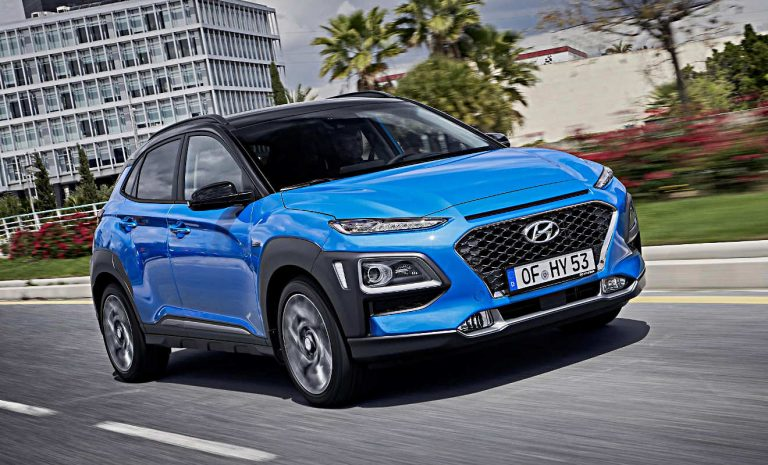 Hyundai Kona nun auch als Hybrid
