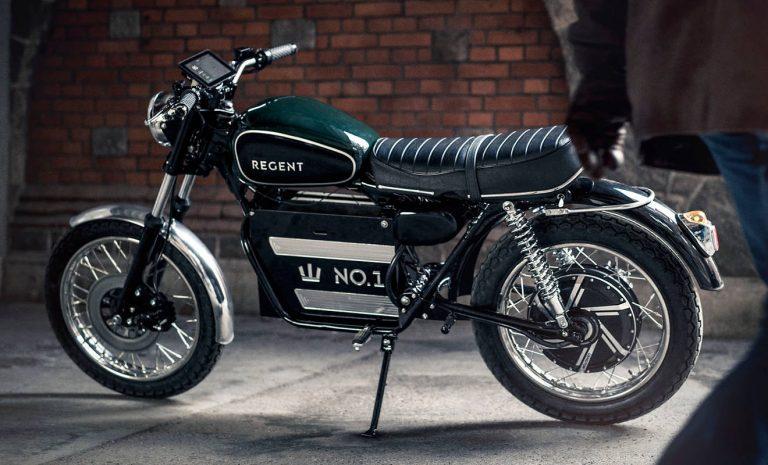 Regent No.1: Retro-Bike mit E-Antrieb