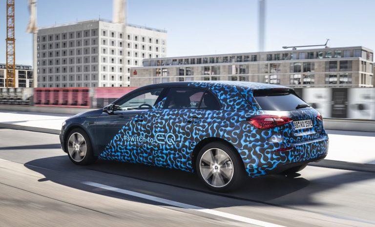 Mercedes Plug-in-Hybrid: Kompakte Teilzeitstromer