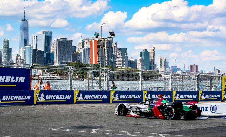 Formel E: Audi wahrt sich in New York Titelchancen