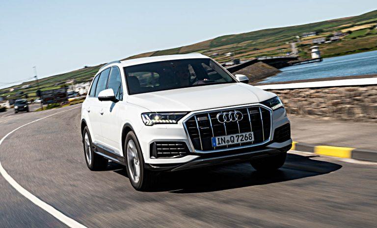 Audi Q7: Oberklasse-SUV zum Segeln