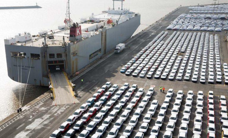 Deutsche Hersteller verkaufen weniger Autos ins Ausland