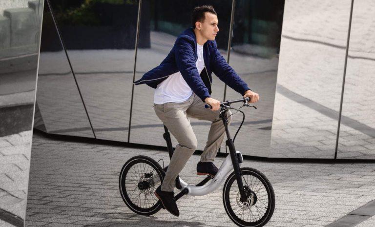 Jivr: Neues elektrischer Faltrad für Berufspendler