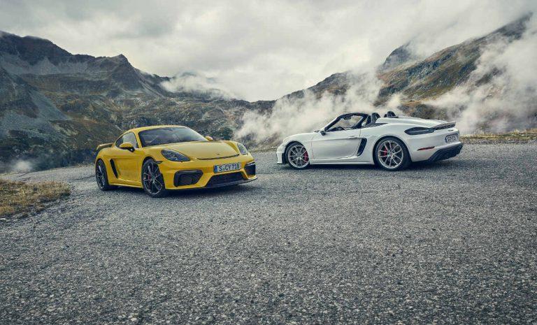 Porsche 718 Cayman GT4: Rückkehr des Sechszylinders