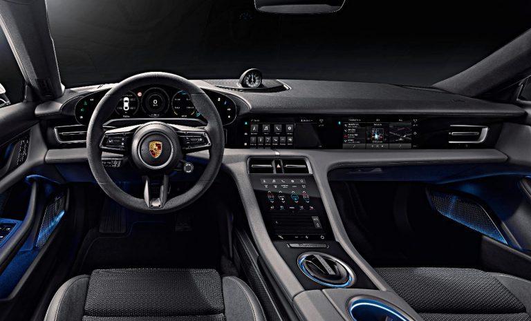 Porsche Taycan: Innenraum voll digital