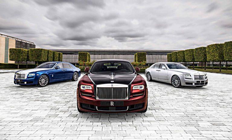 Rolls-Royce Ghost: Ein Sondermodell zum Abschied