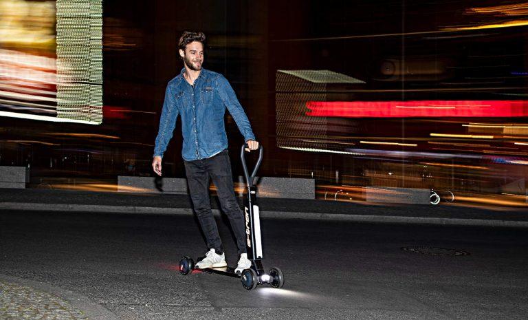 Audi entdeckt den E-Scooter-Boom