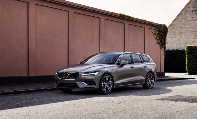 Volvo V60 erhält neuen Plug-in-Hybrid