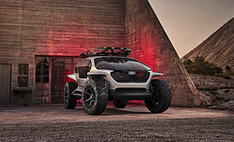 Audi AI:Trail quattro: Visionärer Offroader