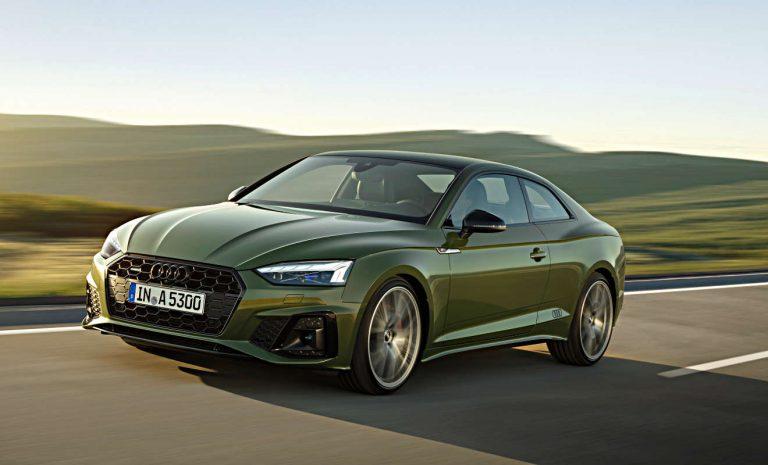 Audi A5: Facelift der Baureihe abgeschlossen