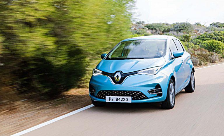 Renault Zoe mit neuem Monatsbestwert