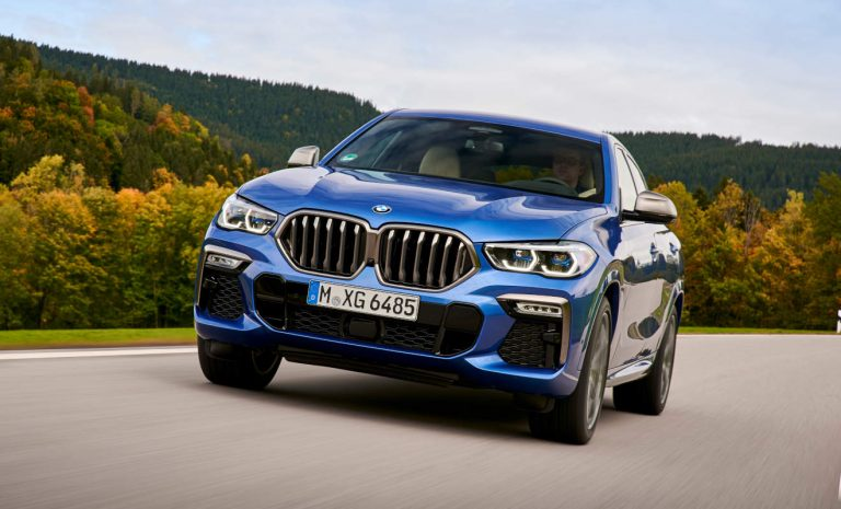 BMW X6: Runderneuerung der Wuchtbrumme