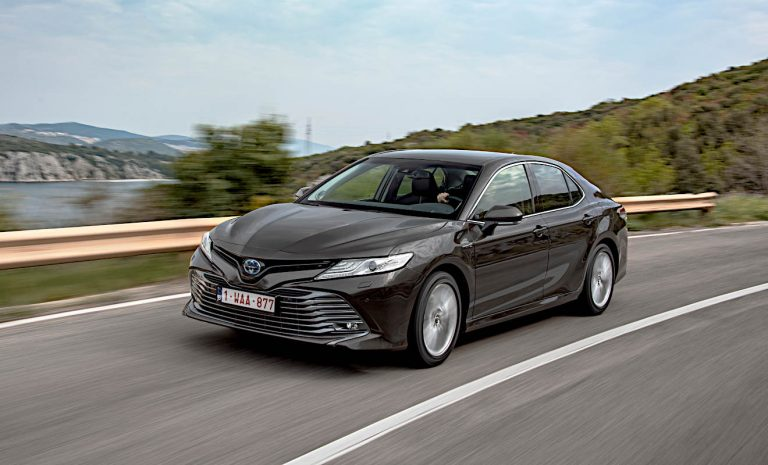 Toyota Camry: Beim Verbrauch klasse
