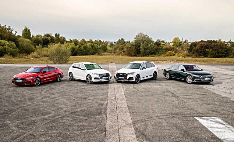 Audi: Noch vier Plug-in-Hybride in diesem Jahr