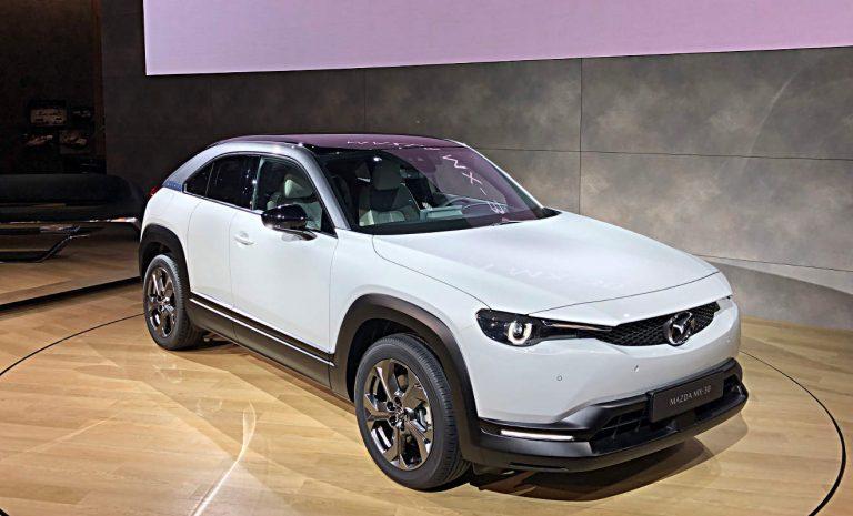 Mazda MX-30: Spätstarter in die E-Mobilität