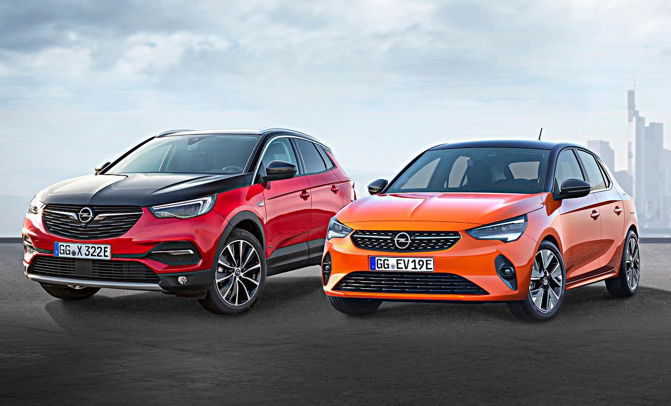 Opel bietet bis 2021 acht elektrifizierte Modelle ...