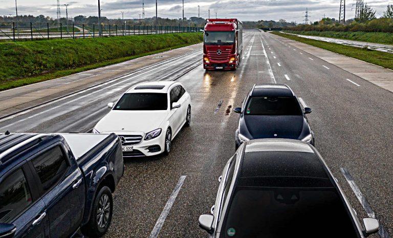 Mercedes: ABA 5 hilft Leben retten