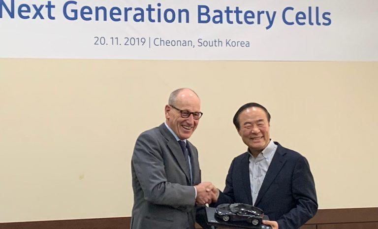 BMW sichert sich langfristig Bedarf an Batteriezellen
