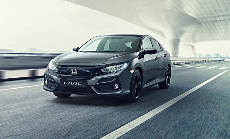 Honda Civic erhält ein Mini-Facelift