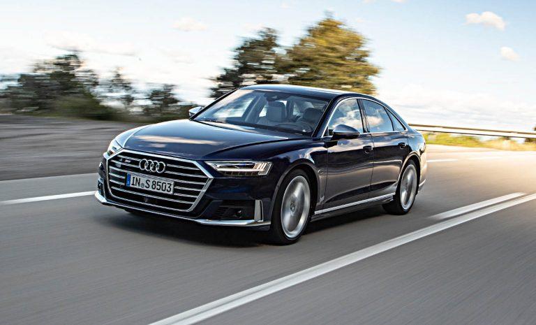 Audi S8: Komfort auf die Spitze getrieben